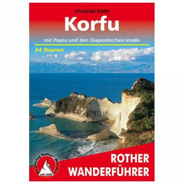 Bergverlag Rother - Korfu - Vaellusoppaat