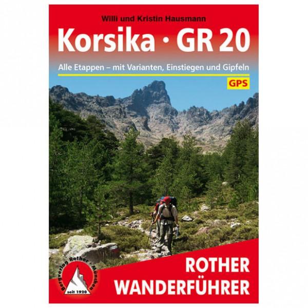 Bergverlag Rother - Korsika - Gr 20 - Walking guide book