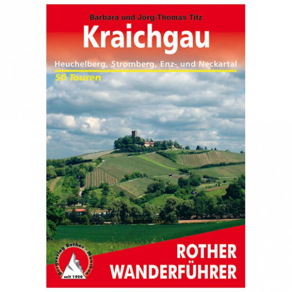 Bergverlag Rother - Kraichgau - Vaellusoppaat