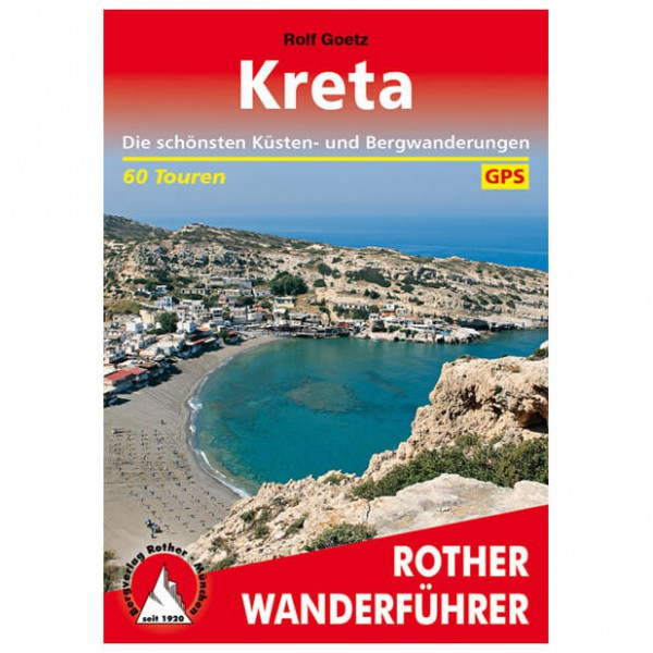 Bergverlag Rother - Kreta - Vaellusoppaat