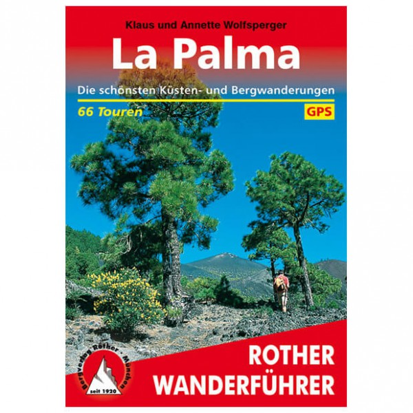 Bergverlag Rother - La Palma - Walking guide books