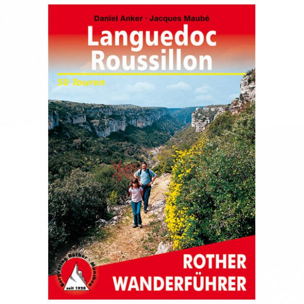 Bergverlag Rother - Languedoc-Roussillon - Wandelgidsen