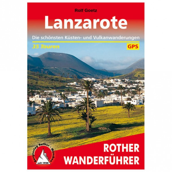 Bergverlag Rother - Lanzarote - Walking guide books