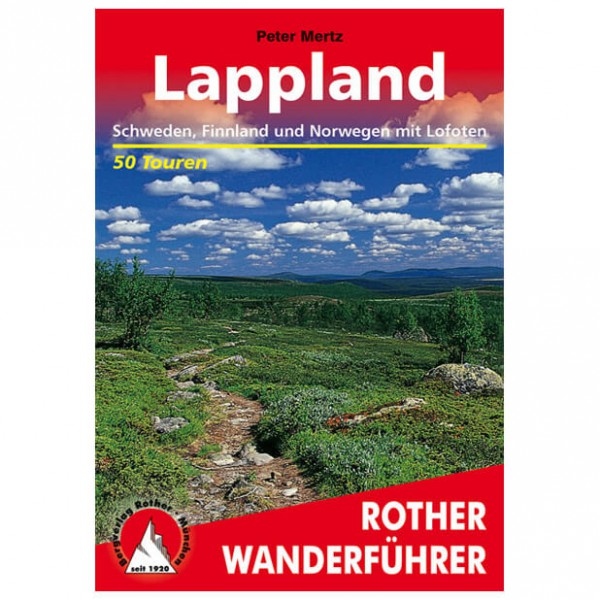 Bergverlag Rother - Lappland - Vaellusoppaat