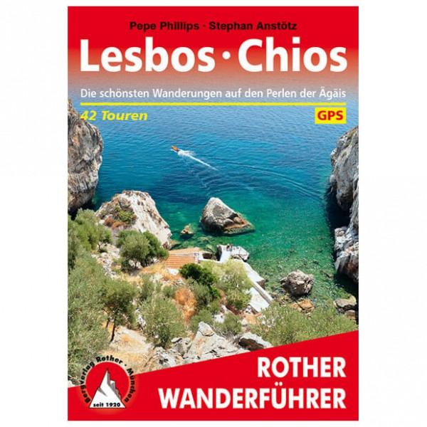 Bergverlag Rother - Lesbos - Chios - Walking guide book
