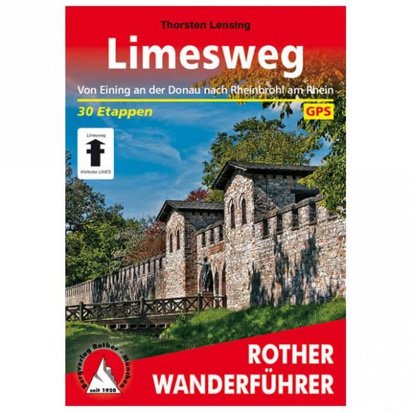 Bergverlag Rother - Limesweg - Wanderführer