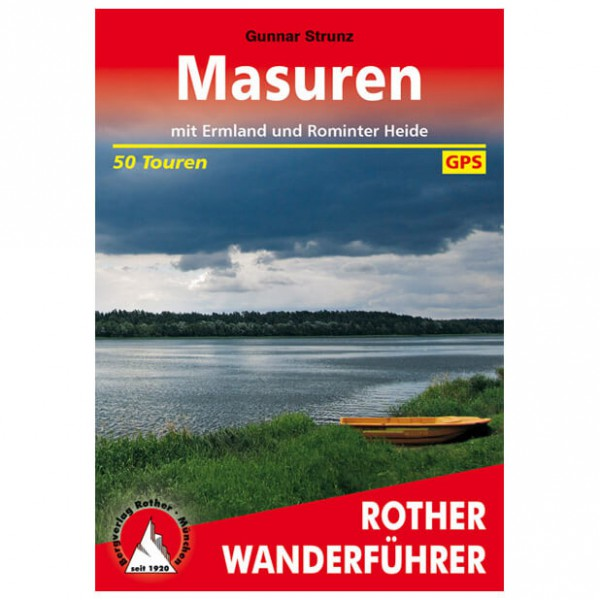Bergverlag Rother - Masuren - Wandelgidsen