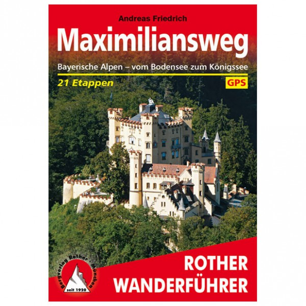 Bergverlag Rother - Maximiliansweg - Vaellusoppaat