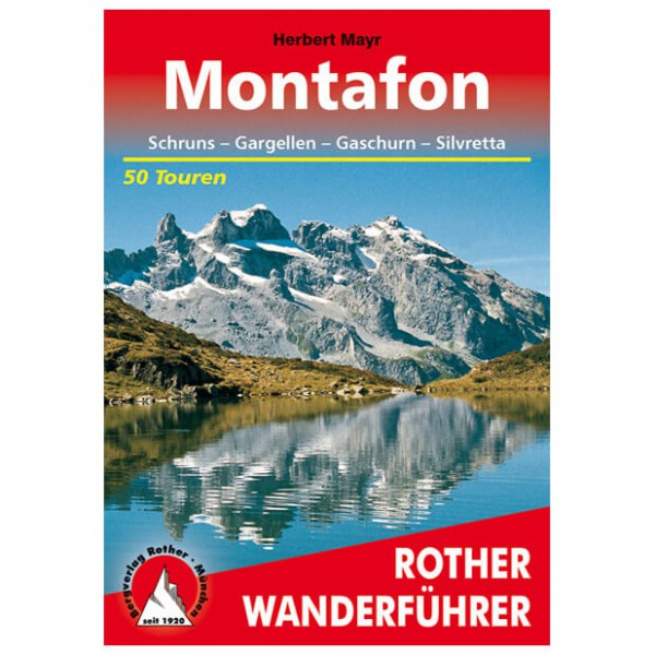 Bergverlag Rother - Montafon - Guides de randonnée