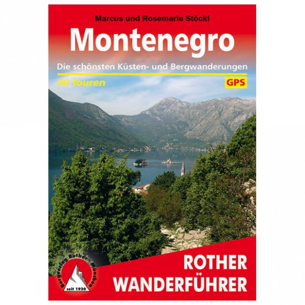 Bergverlag Rother - Montenegro - Vaellusoppaat