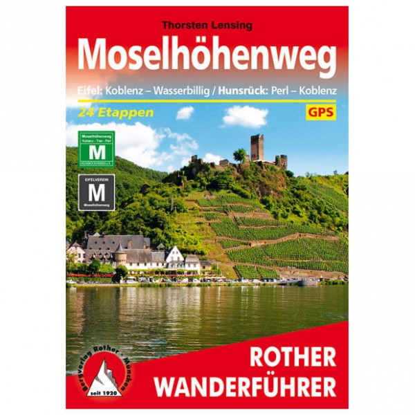 Bergverlag Rother - Moselhöhenweg - Wandelgidsen