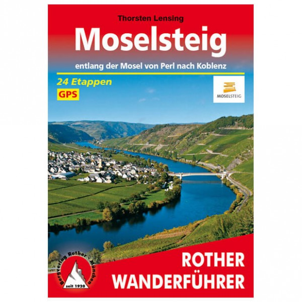 Bergverlag Rother - Moselsteig - Walking guide books