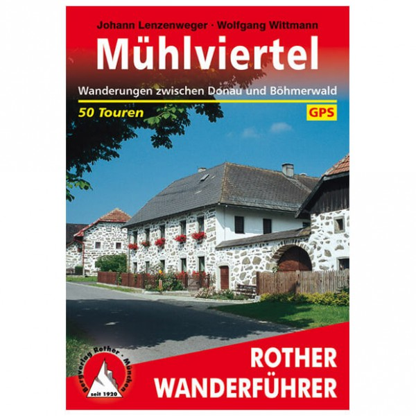 Bergverlag Rother - Mühlviertel - Wandelgidsen