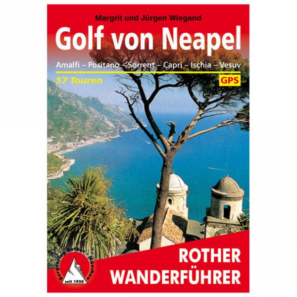 Bergverlag Rother - Neapel - Guides de randonnée