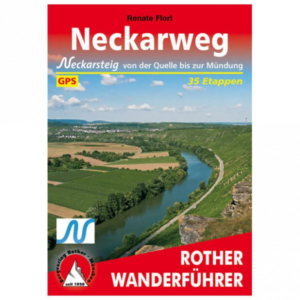 Bergverlag Rother - Neckarweg - Walking guide book