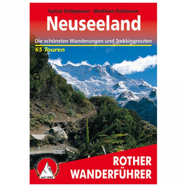 Bergverlag Rother - Neuseeland - Wandelgidsen