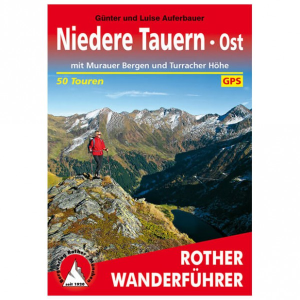 Bergverlag Rother - Niedere Tauern Ost Murau/Turrach - Wanderführer