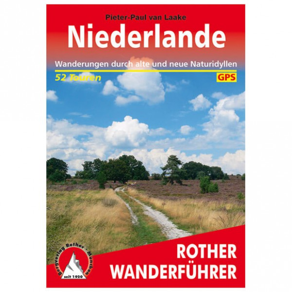 Bergverlag Rother - Niederlande - Wandelgidsen