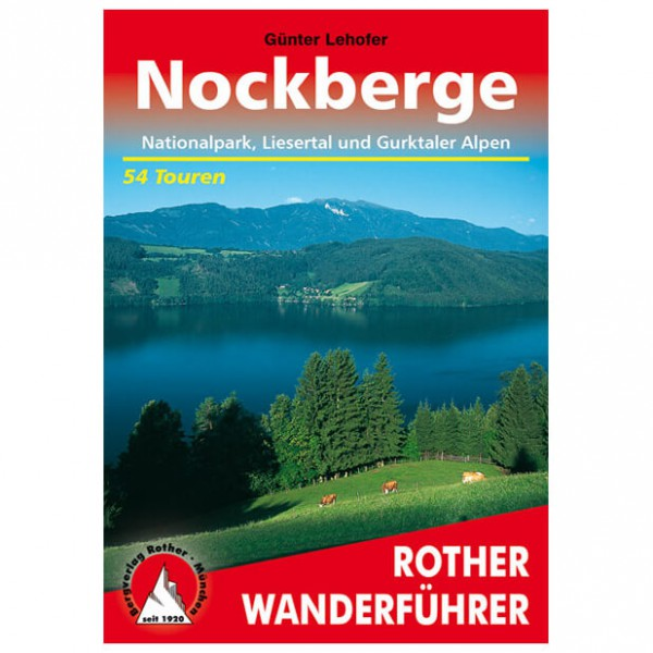 Bergverlag Rother - Nockberge - Wandelgidsen