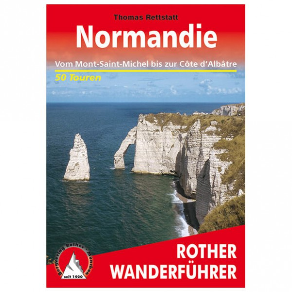Bergverlag Rother - Normandie - Vaellusoppaat