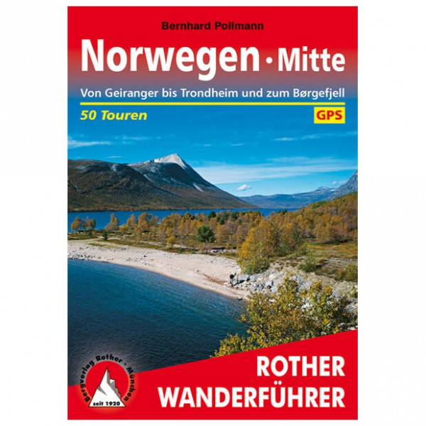 Bergverlag Rother - Norwegen Mitte - Walking guide books