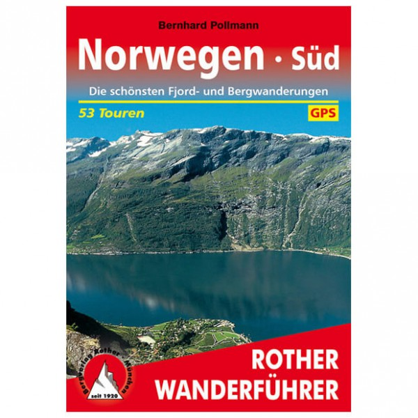 Bergverlag Rother - Norwegen Süd - Walking guide books