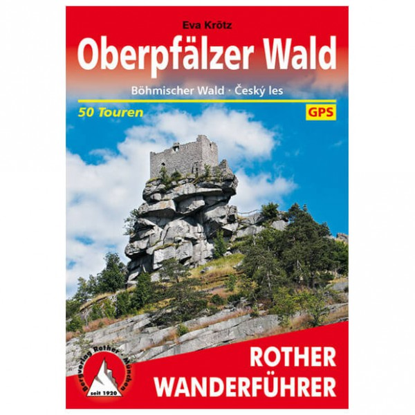 Bergverlag Rother - Oberpfälzer Wald - Walking guide books