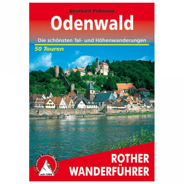 Bergverlag Rother - Odenwald - Vaellusoppaat