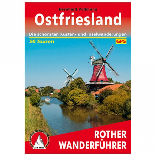 Bergverlag Rother - Ostfriesland - Wandelgidsen