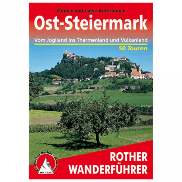 Bergverlag Rother - Ost-Steiermark - Walking guide books