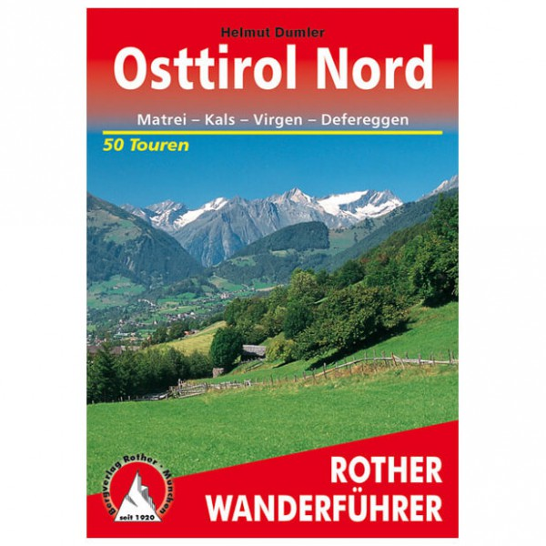 Bergverlag Rother - Osttirol Nord - Wanderführer