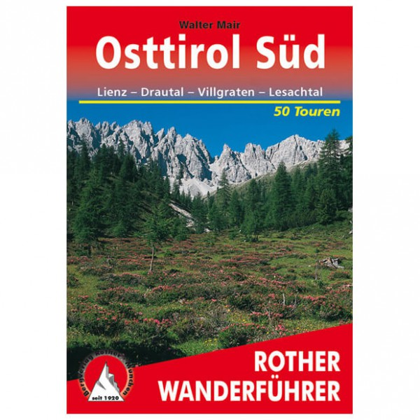 Bergverlag Rother - Osttirol Süd - Walking guide books