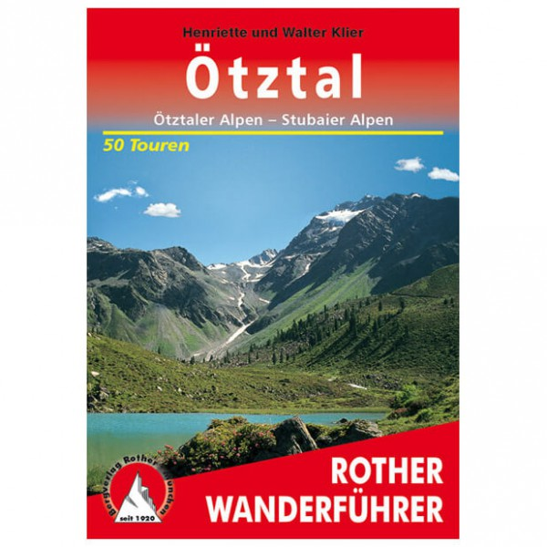 Bergverlag Rother - Ötztal - Wandelgidsen