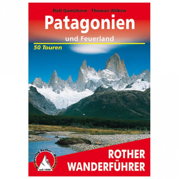 Bergverlag Rother - Patagonien - Guides de randonnée