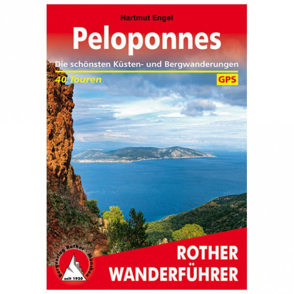 Bergverlag Rother - Peloponnes - Guides de randonnée