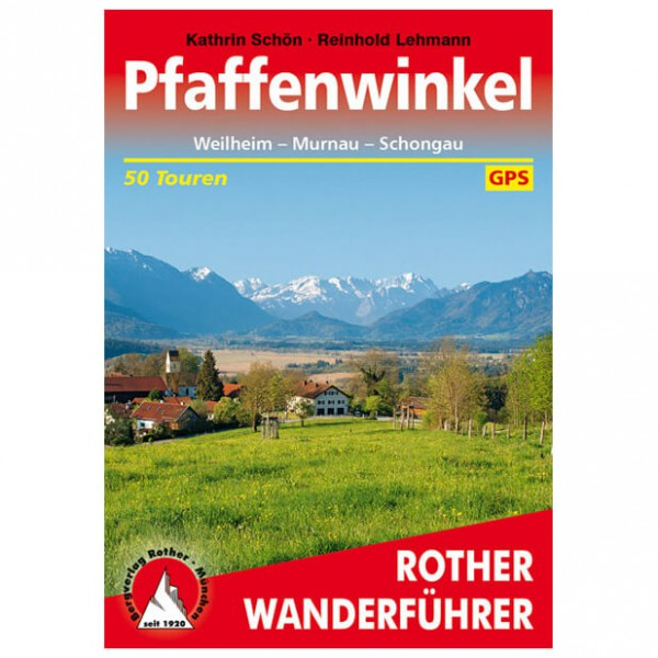 Bergverlag Rother - Pfaffenwinkel - Walking guide books