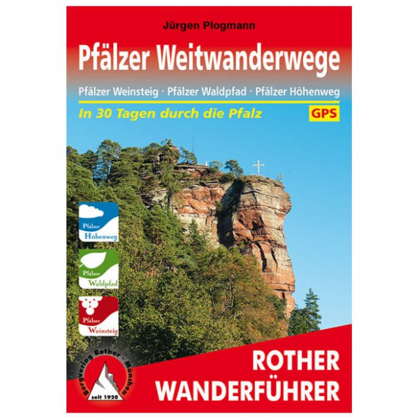 Bergverlag Rother - Pfälzer Weitwanderwege - Walking guide book