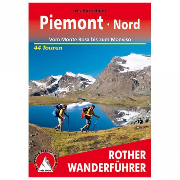 Bergverlag Rother - Piemont Nord - Wandelgidsen
