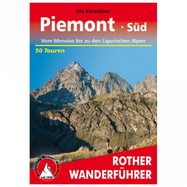 Bergverlag Rother - Piemont Süd - Wandelgidsen
