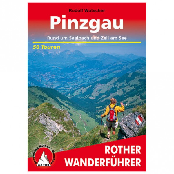 Bergverlag Rother - Pinzgau - Vaellusoppaat