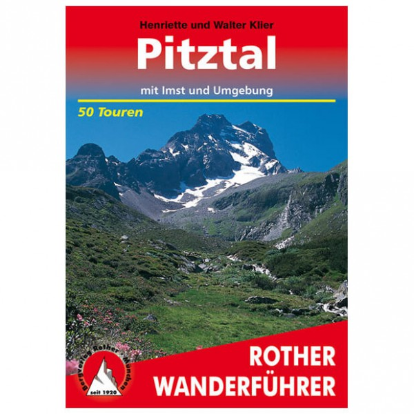 Bergverlag Rother - Pitztal - Wanderführer
