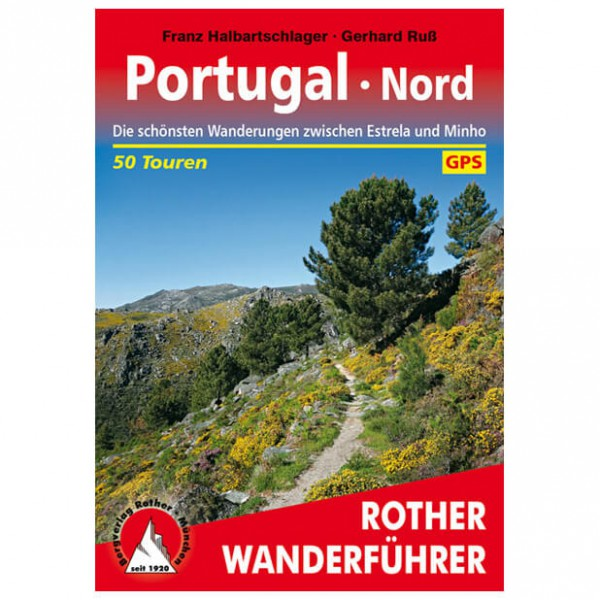 Bergverlag Rother - Portugal Nord - Walking guide books