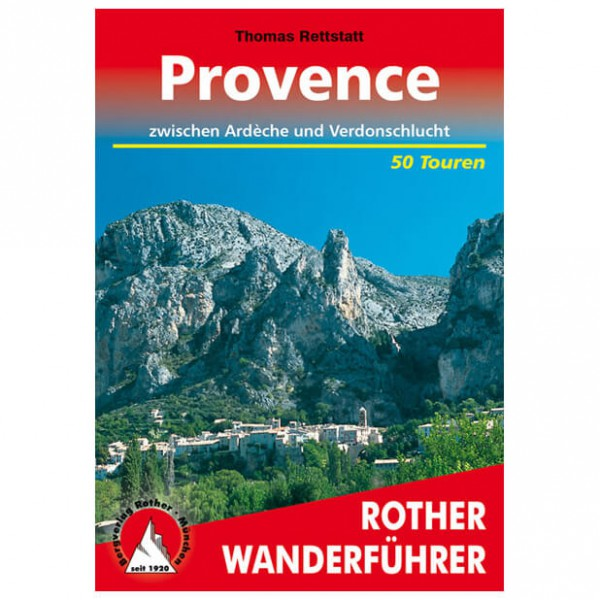 Bergverlag Rother - Provence - Walking guide books
