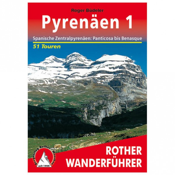 Bergverlag Rother - Pyrenäen 1 - Guides de randonnée