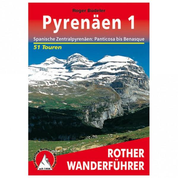 Bergverlag Rother - Pyrenäen 1 - Walking guide books
