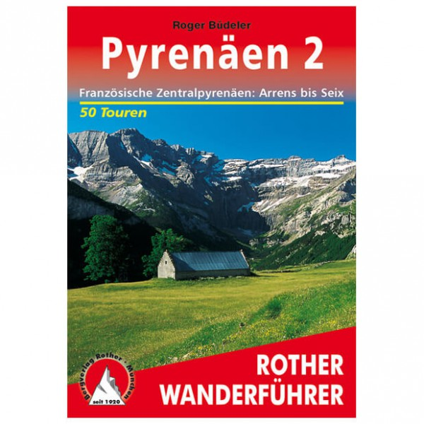 Bergverlag Rother - Pyrenäen 2 - Vaellusoppaat