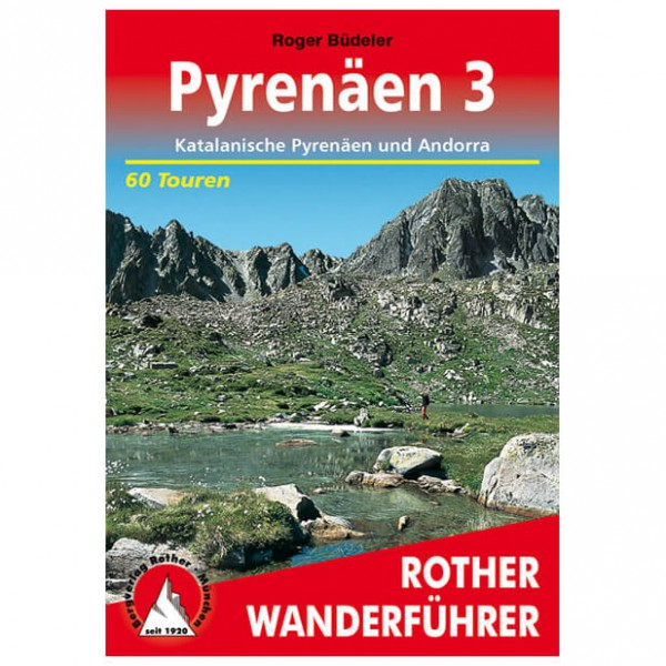 Bergverlag Rother - Pyrenäen 3 - Guides de randonnée