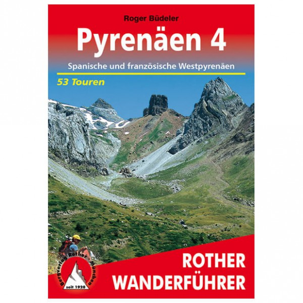 Bergverlag Rother - Pyrenäen 4 - Vaellusoppaat