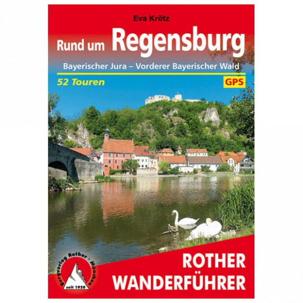 Bergverlag Rother - Regensburg - Walking guide book