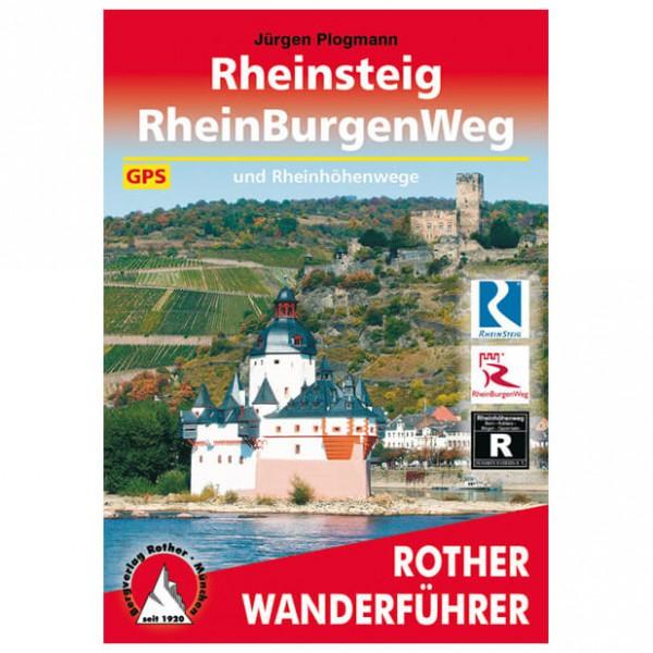 Bergverlag Rother - Rheinsteig - Vandreguides